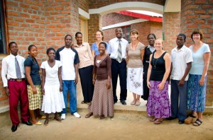 Our Iris Primary School team of missionaries and teachers.